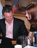Colin Fry Signing Autographs