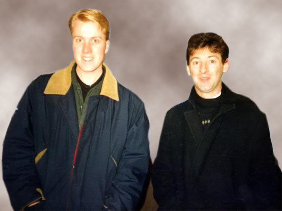 Colin Fry and Tony Stockwell